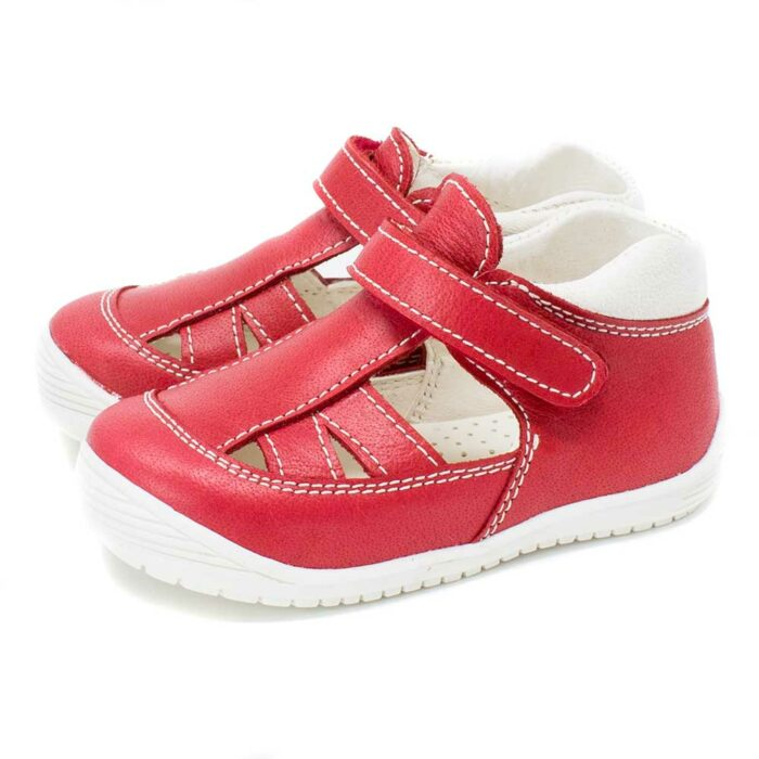 SANDALIA COLOR ROJO FLEXIBLE